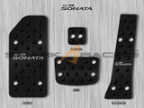 2011-2014 Sonata Aluminum Pedal Set - Black Edition