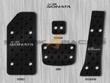 2011-2014 Sonata Aluminum Pedal Set - Black Edition