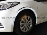 2014+ Forte-K3 Sedan Chrome Fender Guards