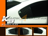 2014+ Forte-K3 Sedan C-Pillar Quarter Glass Plates