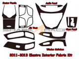 2011-2013 Elantra Interior Fabric Overlay Kit