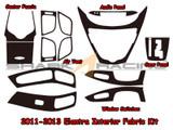 2011-2013 Elantra Interior Fabric Overlay Kit