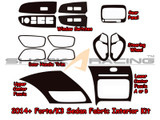 2014+ Forte-K3 Sedan Interior Fabric Overlay Kit