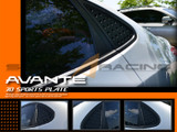 2007-2010 Elantra C-Pillar Quarter Glass Plates