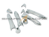 2014+ Forte-K3 Sedan Chrome Door Handle Overlays - Smart Key