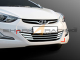 2014-2015 Elantra Lower Grill Chrome Molding Set