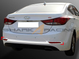 2014-2015 Elantra Rear Bumper Chrome Molding Set