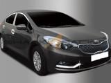 2014+ Forte-K3 Sedan Chrome Foglight/Reflector Molding Kit