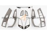 2014-2015 Elantra Black Chrome Interior Kit
