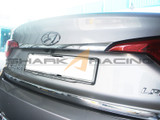 2015-2017 Sonata Chrome Trunk Trim