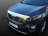 2016+ Sorento Chrome Hood Guard