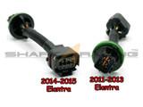 2011-2016 Elantra Headlight Wiring Harness Adapter Set