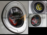 2011-2015 Elantra sedan Clear Fuel Door Kit