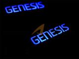 2015-2016 Genesis LED Door Catch Plate Kit