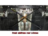 2017+ Elantra Front Subframe Brace Set