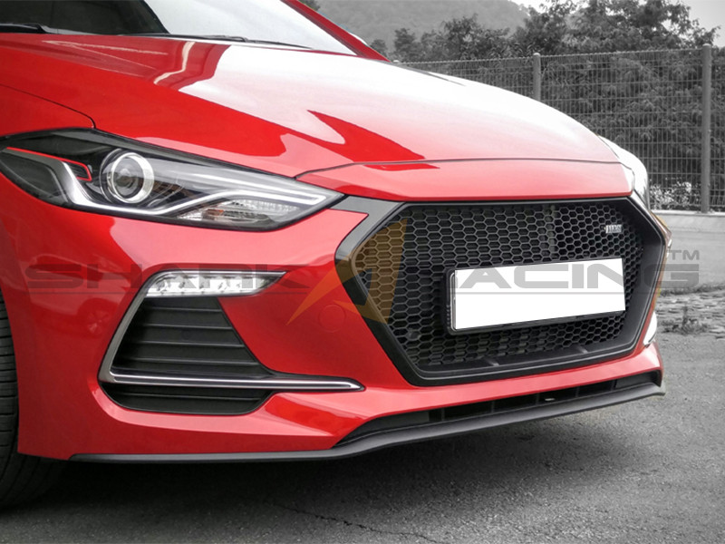 2017 Elantra Sport Grill Type Ms Shark Racing