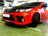 2010-2013 Forte Koup Front Lip Spoiler - Type M