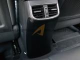 2017+ Elantra Carbon Fiber Style Console Rear Protector