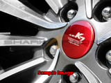 Colored Aluminum Wheel Cap Overlays