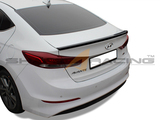 2017+ Elantra Painted Trunk Spoiler - Type G