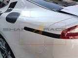2018+ Stinger Rear Side Marker Carbon Fiber Decal Kit