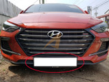 2017+ Elantra License Plate Relocation Kit