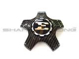 2018+ Stinger Factory Carbon Fiber Style Emblem Set - 19 inch Wheels