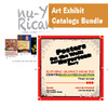 Art Exhibit Catalogs Bundle