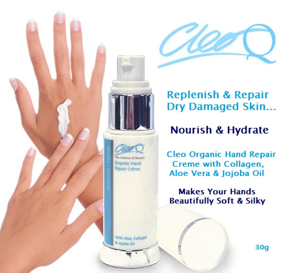 cleo collagen hand repair crème