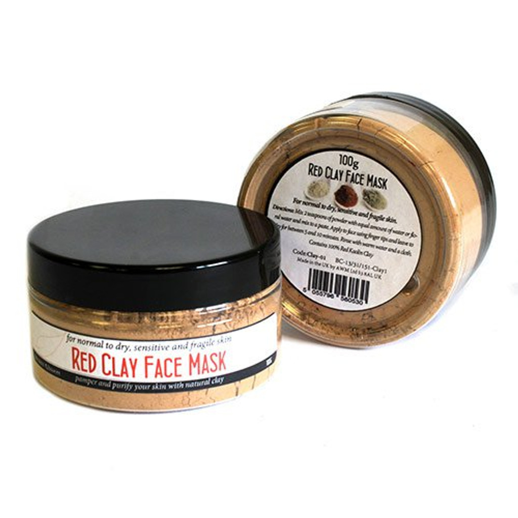ancient wisdom red clay face mask