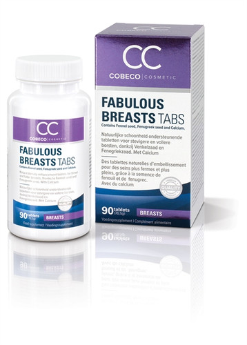 fabulous breasts capsule bust enhancement supplement 90 tabs