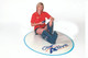cleo active leg and foot massager lifestyle female