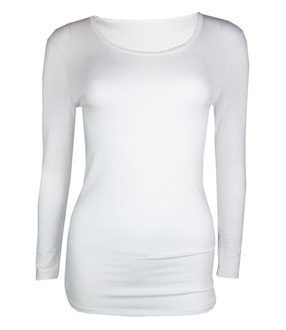 Ex Major High Street Heat Retaining Long Sleeve Thermal Top - WAS £1.75   NOW £1.25