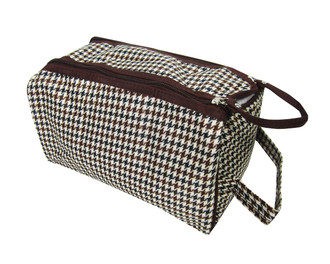 Men's Double Zipped Wash Bag - £1.50