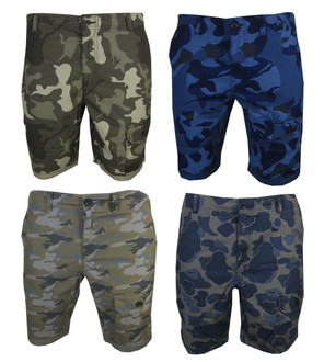Ex Major High Street Men's Cargo Shorts - £4.95