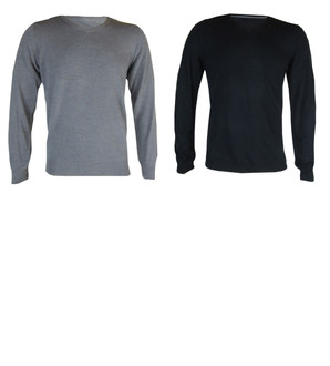 Ex M-S Mens V Neck Jumper - £4.00
