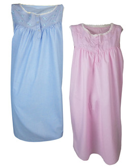 Ex Major High Street  Ladies Sleeveless  Nightdress - £3.75