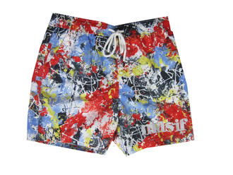 Ex Major High Street Mens Red  Swim Shorts -  £3.00