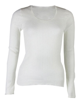 Ex major High Street Ladies Long Sleeve Thermal Top  - £2.00