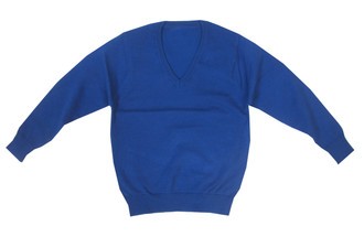 Ex M-S School Unisex V-Neck Jumper - £1.75