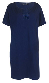 Ex M&C- Ladies Navy Nightdress - £3.25
