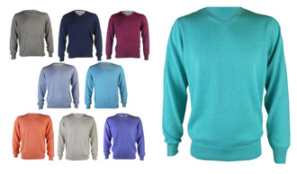 Ex M-S  Men's  V Neck Jumpers - £4.95