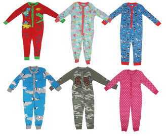 Children Assorted All in One Suit - £2.50
