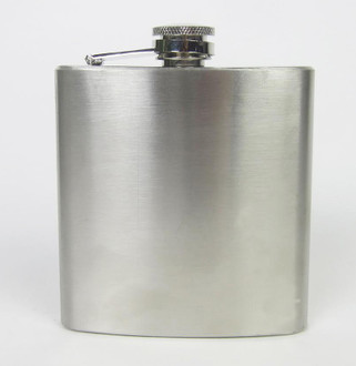 Stainless Steel Hip Flask - £2.00