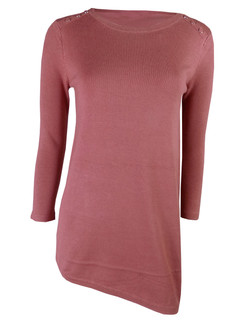 Ex M&C- Ladies Asymmetric  Jumper - WAS £4.00   NOW £2.50