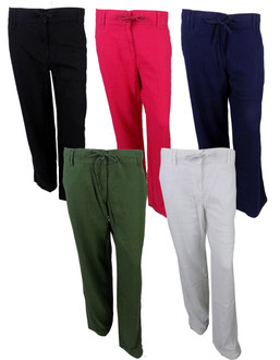 Ex N-xt Ladies Linen Trousers - £4.00