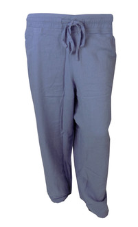 Ex E-ans Ladies Linen Trousers - £4.50