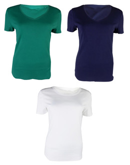 Ex M-S Ladies  Short Sleeve Top - £1.50