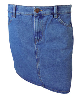 Ex N-w Lo-k Ladies Denim Skirt  - £4.25