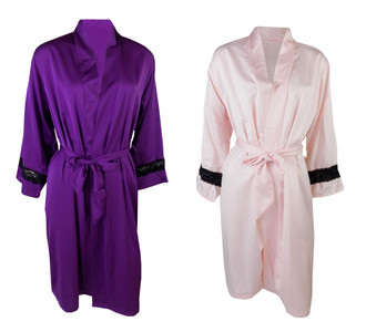 Ex M-S Ladies Satin Wrap- WAS £4.95   NOW £2.50